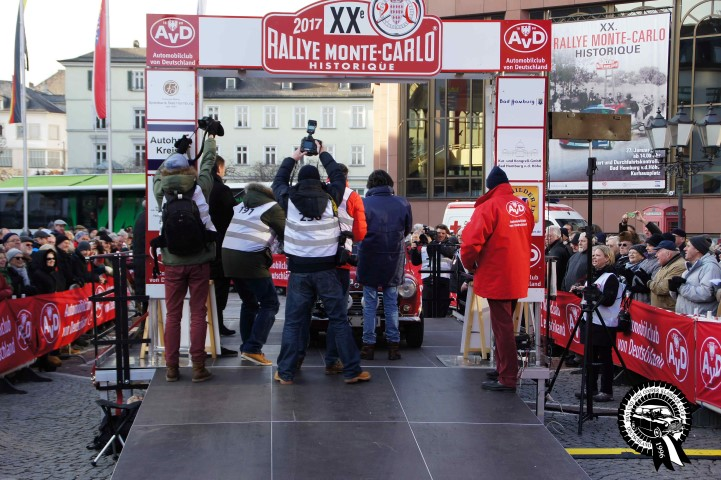 Rallye Monte Carlo Start Bad Homburg 2017 - MINI UND MINI COOPER KLASSIKER